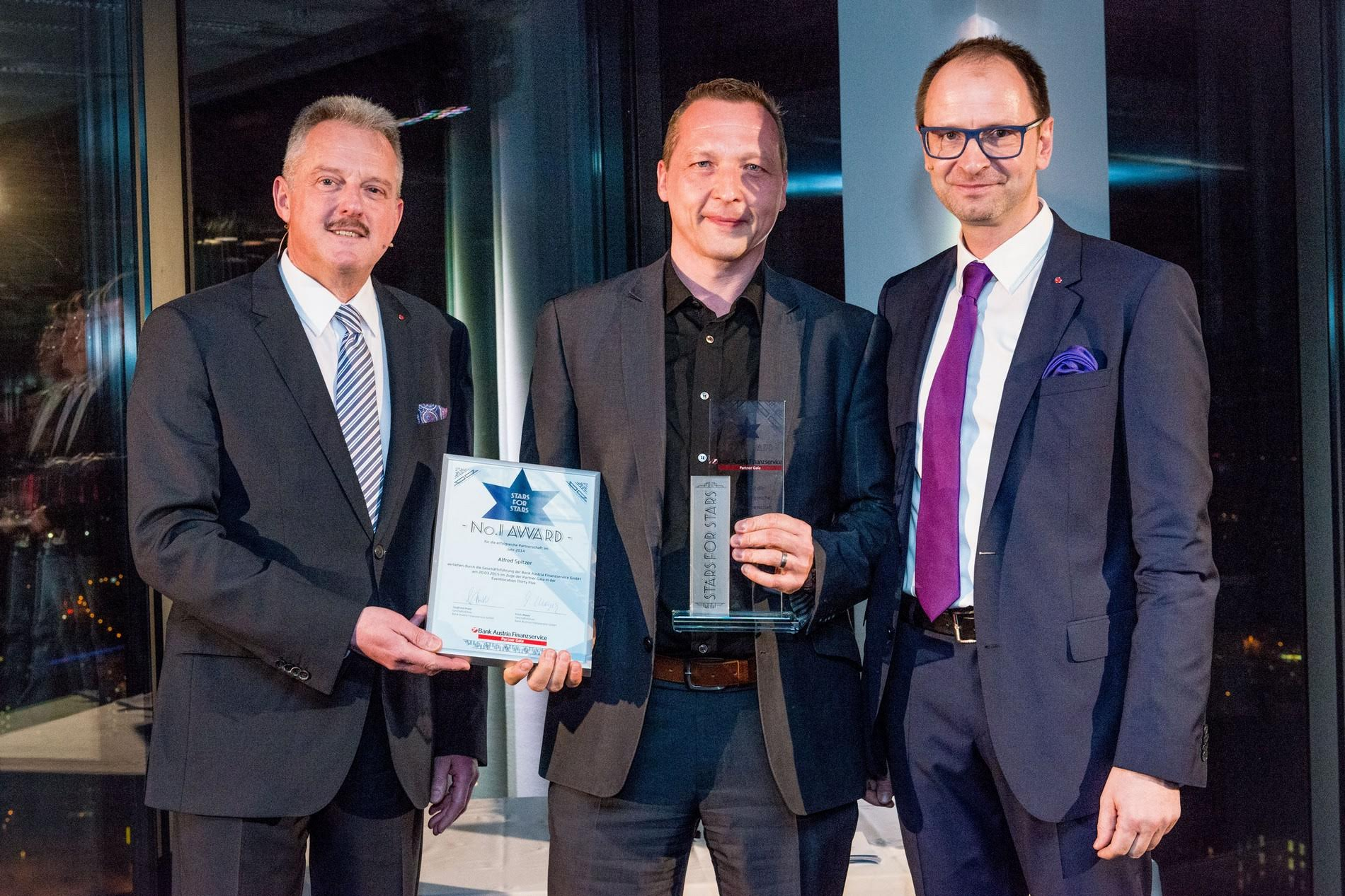 No.1 Award 2014 – Bank Austria Finanzservice